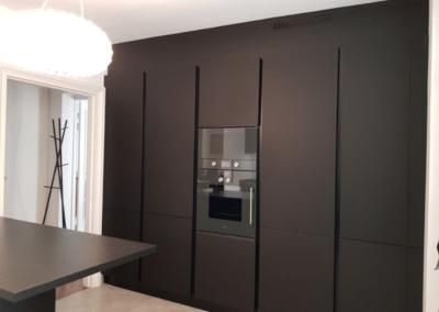 Alto Design - Cuisine Tau Fenix Nero ARMONY